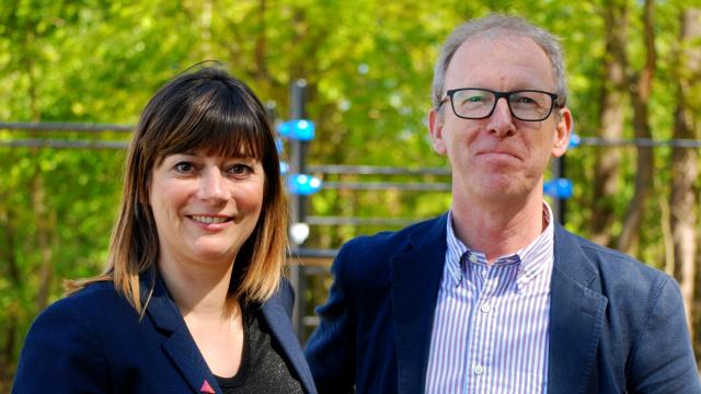 Mireille Colson en Koen Dillen