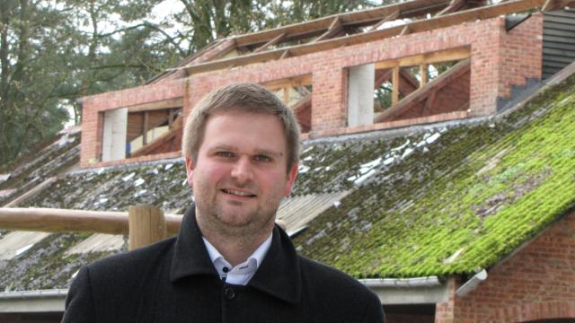 Bart Vanmarcke voorzitter Speelplein Galbergen