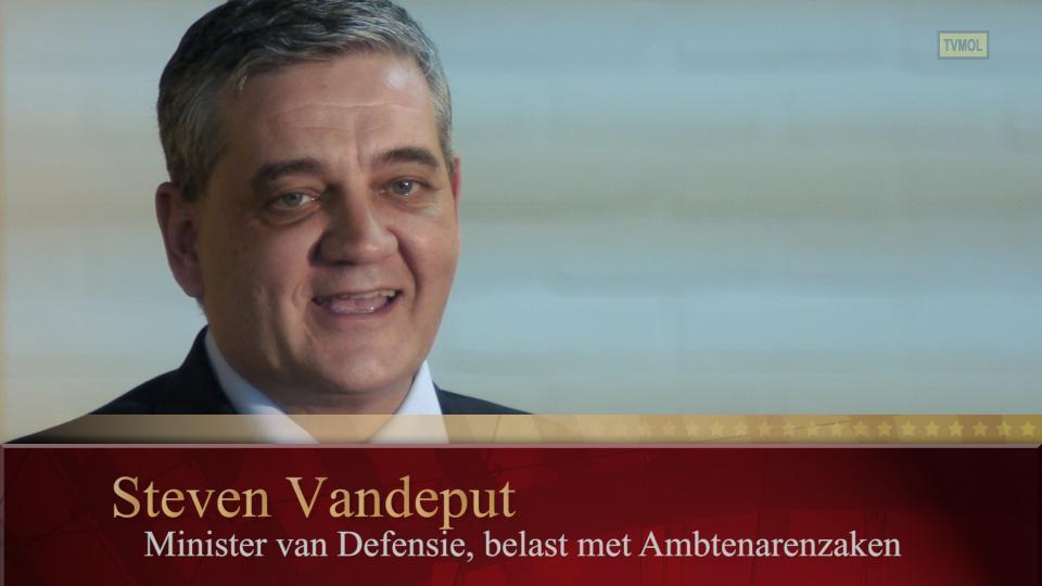 Minister Steven Vandeput