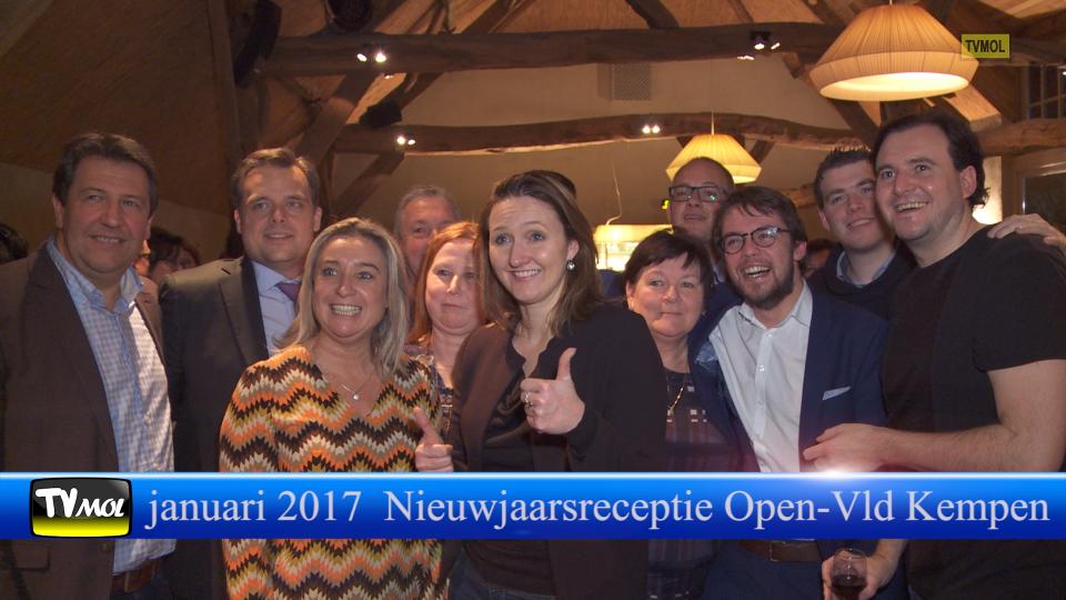 Nieuwjaarsreceptie Open Vld Kempen 2017