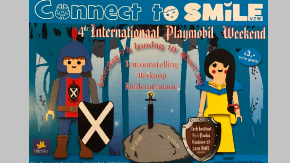 Connect to smile - Playmobil beurs 2019