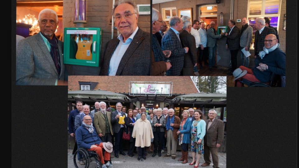 Fifty-One Club Mol plaatst AED-toestel in De Drie Linden te Mol-Postel
