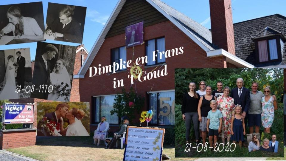 Dimpke en Frans vieren Goud op 't Stokt