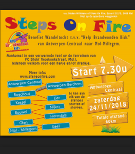 flyer Steps On Fire 2018
