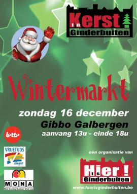 Flyer Wintermarkt
