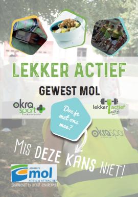 Lekker actief te Mol