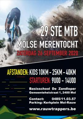flyer MTB tocht Rauwtrappers