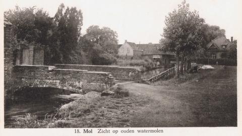 Mol  Zicht op ouden watermolen