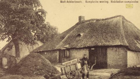 Moll - Achterbosch - Kempische woning