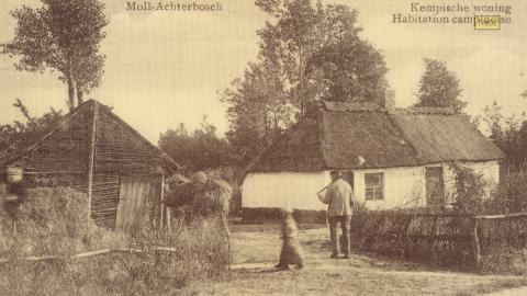 Moll - Achterbosch  Kempische woning