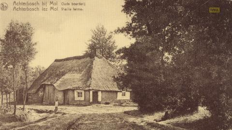 Achterbosch bij Moll oude boerderij