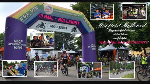 Mol fietst Mollenrit