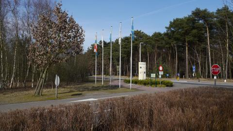 Ingang Zilvermeer Mol