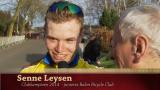 Senne Leysen - Clubkampioen 2014 juniores Balen BC