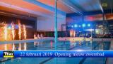 22 februari 2019 Opening nieuw zwembad Vita-Den Uyt Mol